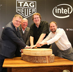 泰格豪雅携手谷歌和英特尔宣布合作开发瑞士智能手表