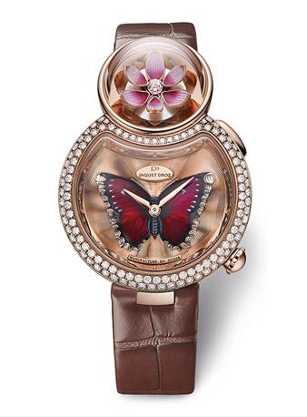 雅克德罗优雅8花之韵(Lady 8 Flower)腕表